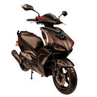remplace le scooter SCOOTER 50 ECCHO SPLIT ONE BLACK