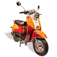 remplace le scooter SCOOTER 50 ECCHO RETRO JAM II