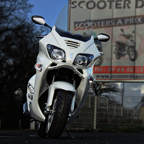 SCOOTER ECCHO 125 GT STAR WHITE SERIES