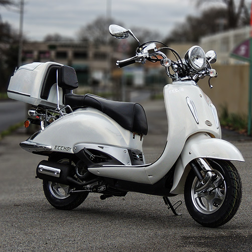 SCOOTER ECCHO CHOUPETTE 125 WHITE SERIES