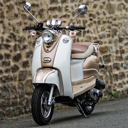 SCOOTER ECCHO RETRO GOLD 50