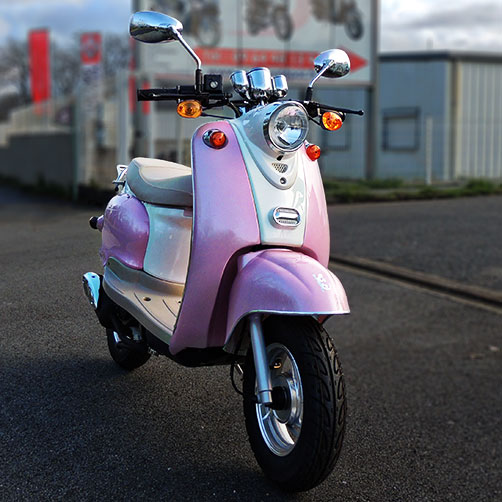SCOOTER ECCHO PINK 50