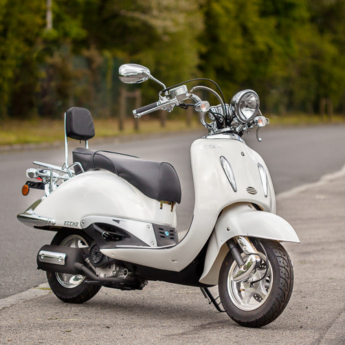 SCOOTER ECCHO CHOUPETTE 50 WHITE SERIES